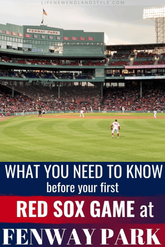 What you need to know before your first Red Sox game at Fenway Park