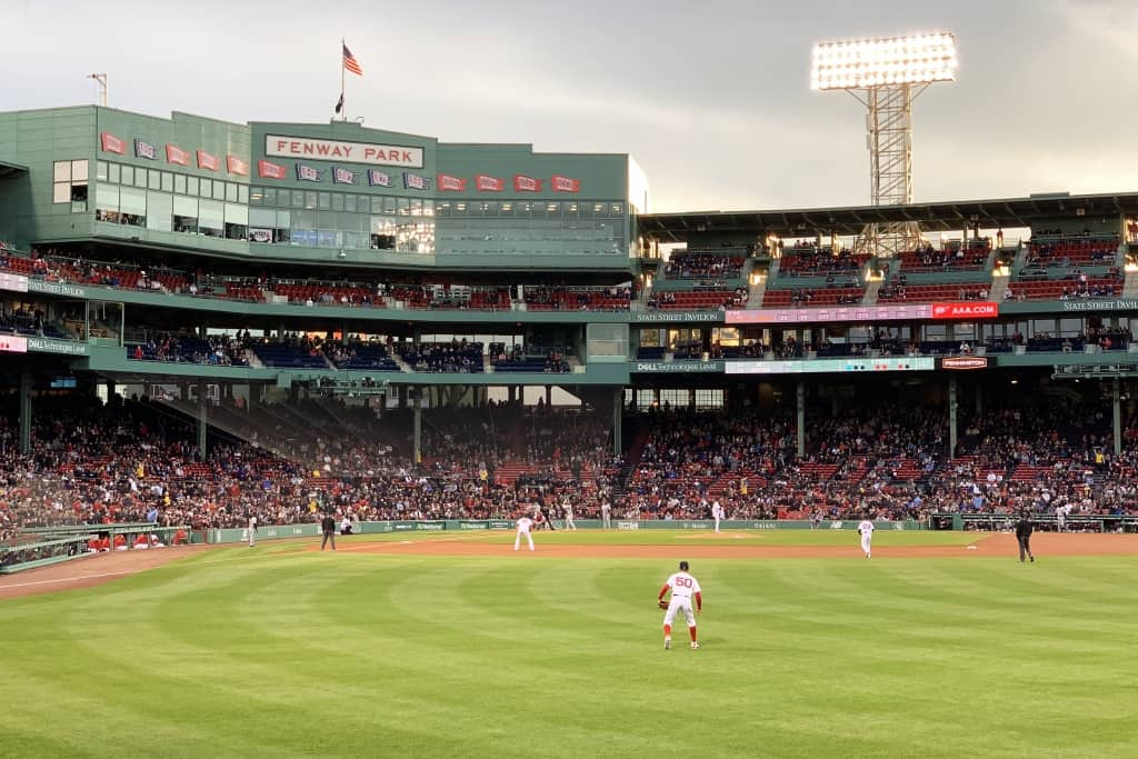 Boston Red Sox, Fenway Park outfield