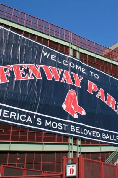Red Sox game at Fenway Park with kids